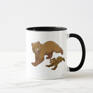 Brother Bear Kenai and Koda running Disney Mug