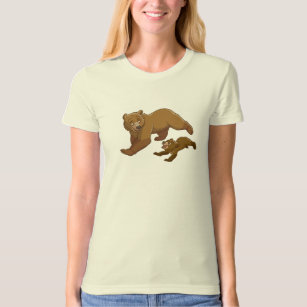 Brother Bear Kenai and Koda running Disney T-Shirt