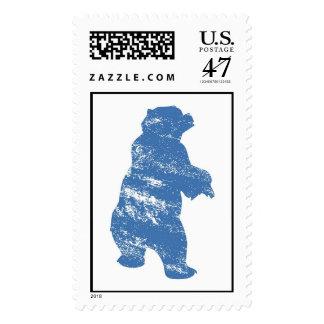 Brother Bear Kenai Blue Shadow Disney Postage Stamp