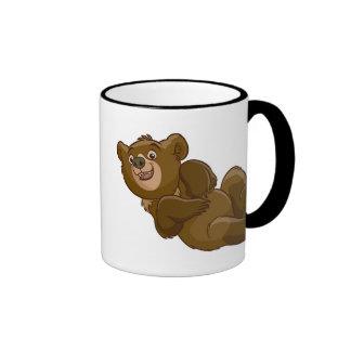 Brother Bear Koda lying down Disney Ringer Mug
