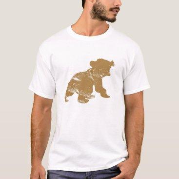 Disney Themed Brother Bear Koda Rawring Drawing Disney T-Shirt