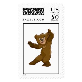Brother Bear Koda staring Disney Postage