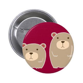 Brother Bear Pinback Button