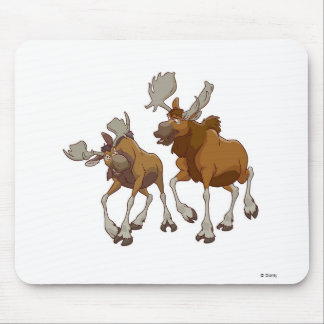 Brother Bear Rutt and Tuke walking Disney Mouse Pads