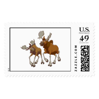 Brother Bear Rutt and Tuke walking Disney Postage Stamp