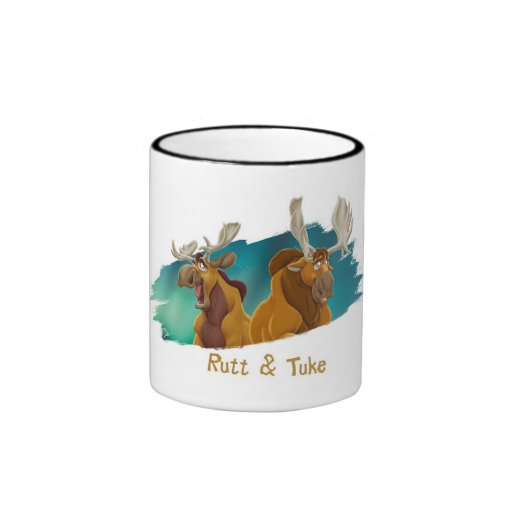 Brother Bear Rutt & Tuke moose Disney Mug