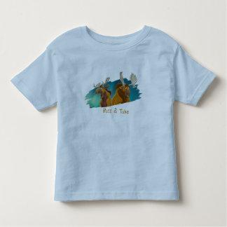 Brother Bear Rutt & Tuke moose Disney Tee Shirt