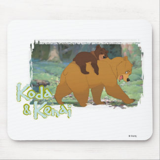 Brother Bear's Koda and Kendi Disney Mouse Pad