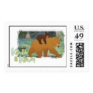 Brother Bear's Koda and Kendi Disney Postage