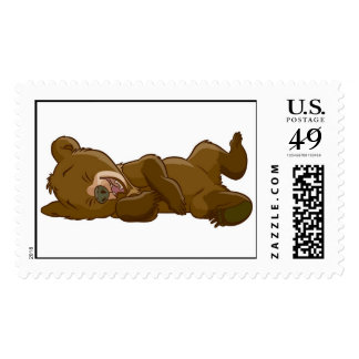 Brother Bear's Koda Laughing Disney Postage Stamps