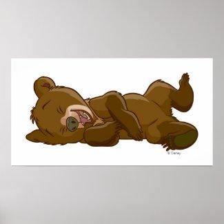 Brother Bear's Koda Laughing Disney zazzle_print
