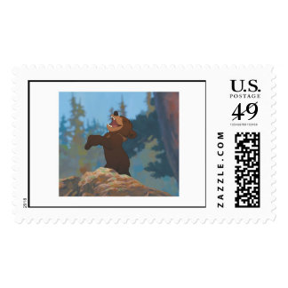 Brother Bear's Koda Shouting Disney Postage
