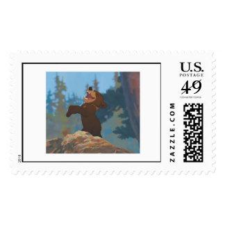 Brother Bear's Koda Shouting Disney Postage Stamp