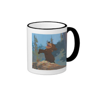 Brother Bear's Koda Shouting Disney Ringer Mug