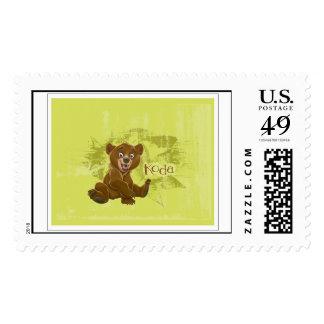Brother Bear's Koda Sitting Disney Postage Stamp