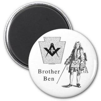 Brother Ben Franklin Magnet