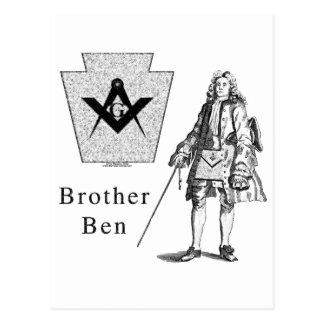 Brother Ben Franklin Postales