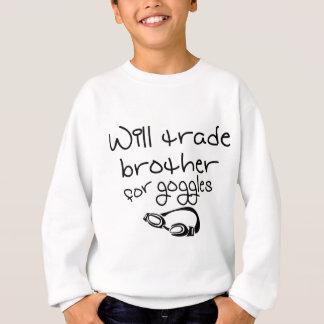 Brother comercial para las gafas sudadera