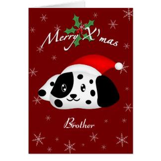 Brother Dalmatian 2 Card