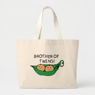 Brother de la vaina de los gemelos bolsas de mano