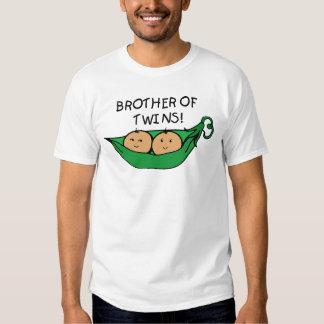 Brother de la vaina de los gemelos playera