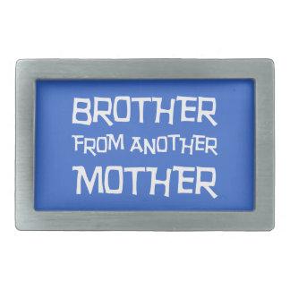 Brother de otra madre hebillas cinturon rectangulares