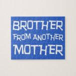 Brother de otra madre puzzles con fotos