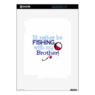 Brother Decal For iPad 2