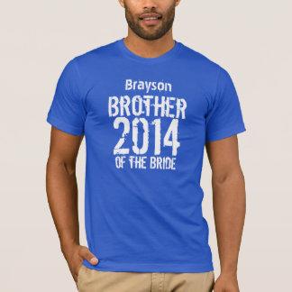 Brother del regalo de la novia 2014 o cualesquiera playera