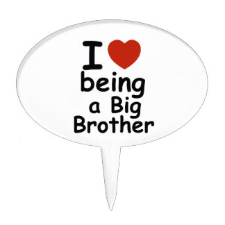 brother design cake topper