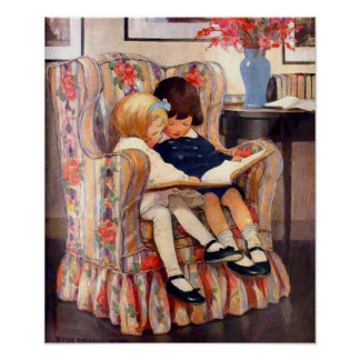 Brother e impresión de la lona de la hermana póster