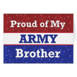 - BROTHER en ejército - pensamiento militar en ust Tarjeton