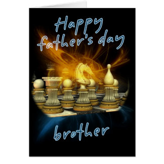 Brother - Father's Day Card - Chess