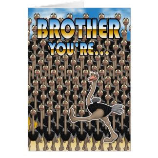Brother Father's Day Card - You Are One In a Milli