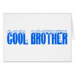 Brother fresco (azul) felicitación