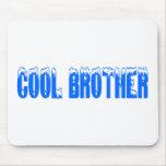 Brother fresco (azul) tapete de ratón