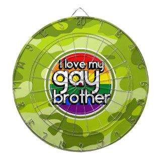 Brother gay; camo verde claro, camuflaje tablero de dardos