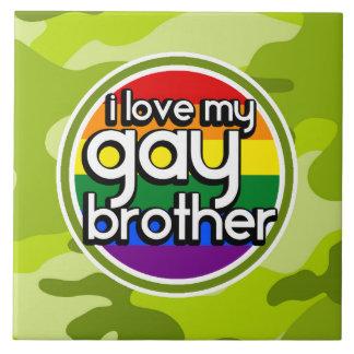 Brother gay camo verde claro camuflaje azulejos ceramicos