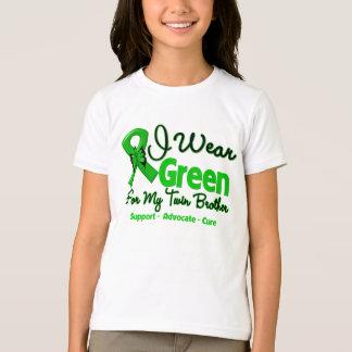 Brother gemelo - cinta verde de la conciencia poleras