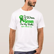 Brother - Green  Awareness Ribbon T-Shirt