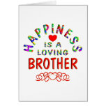 Brother Happiness Greeting Card