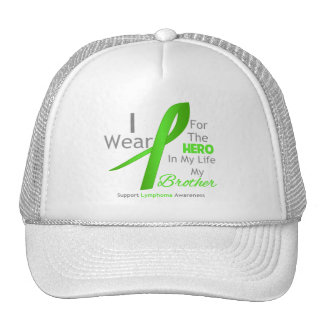 Brother Hero In My Life - Lymphoma Trucker Hat