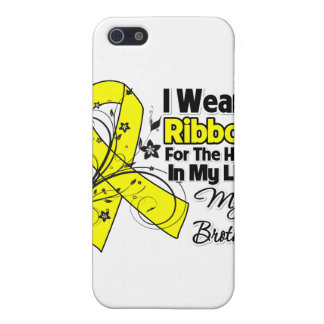 Brother Hero in My Life Sarcoma Awareness Case For iPhone 5