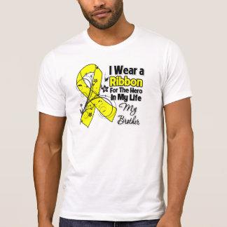Brother Hero in My Life Sarcoma Awareness Tee Shirt
