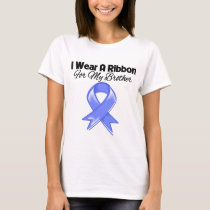 Brother - I Wear Periwinkle Ribbon T-Shirt