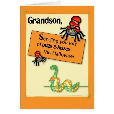 Halloween Themed Brother-in-Law Bugs and Hisses Halloween Card