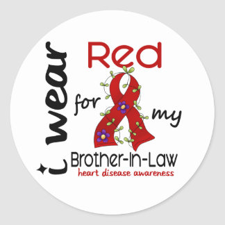 Brother-In-Law Classic Round Sticker
