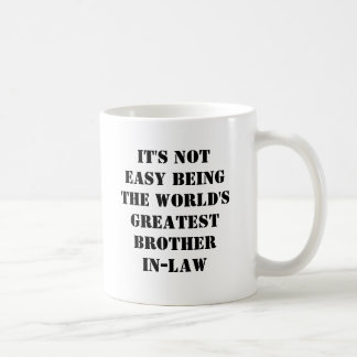 Brother-In-Law Classic White Coffee Mug