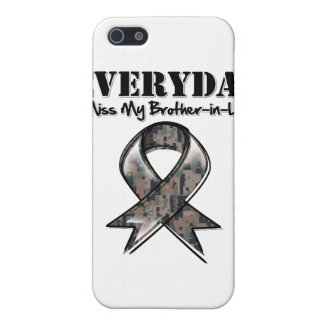 Brother-in-Law - Everyday I Miss My Hero Military Cover For iPhone SE/5/5s