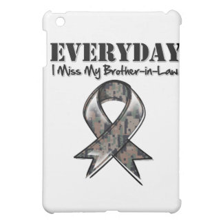 Brother-in-Law - Everyday I Miss My Hero Military iPad Mini Cover